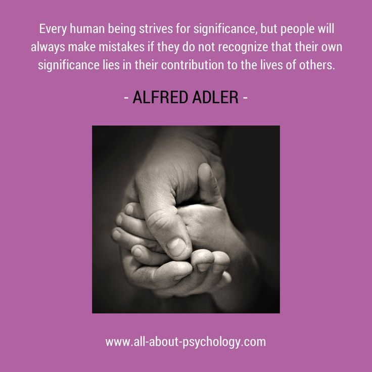 charming life pattern: alfred adler - quote - psychology | Quotes ...