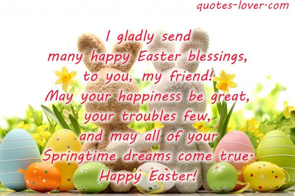 Pin by quotes lover.on Picture Quotes | Happy easter quotes