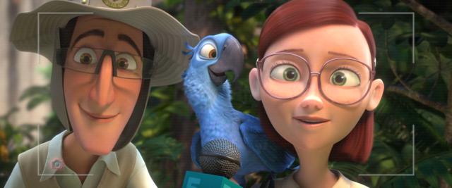 Tulio Monteiro And Linda Gunderson Rio 2 In 2020 Disney Princess Wallpaper Cartoon Photo Disney Movies