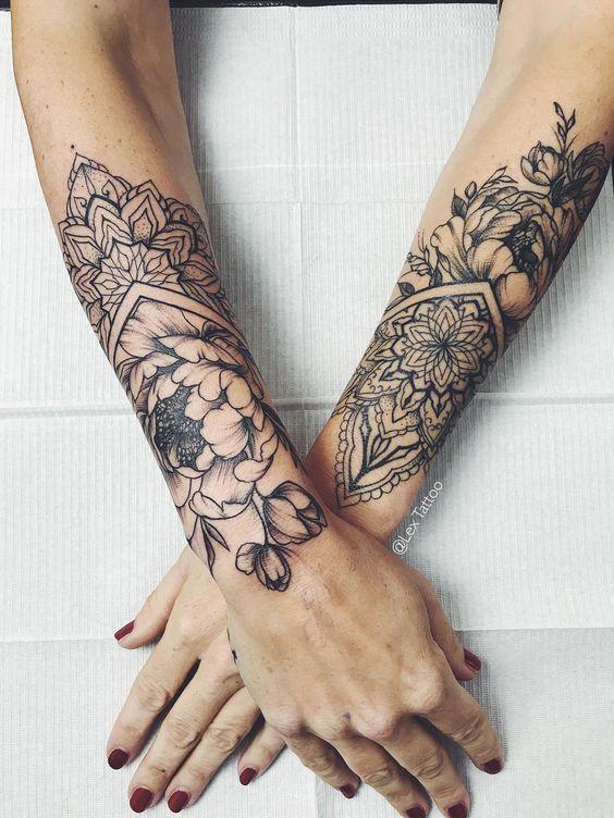 Photo of 46 Awesome Mandala Tattoo Designs To Inspired Body Art Tattoos, Mandala Tattoos …