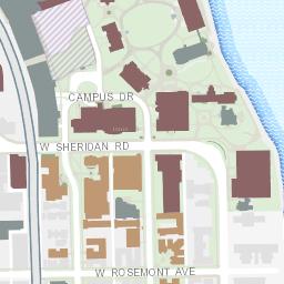 loyola university chicago campus map Campus Map Of Sustainability Features Loyola University Chicago loyola university chicago campus map