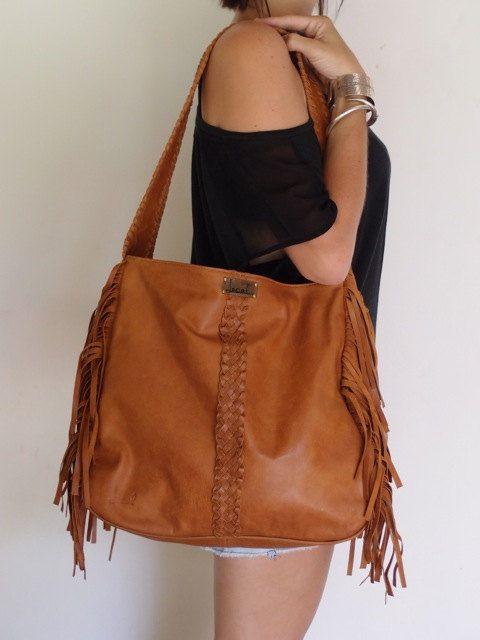 Boho Fringe Bag Leather By Balielf 180 00