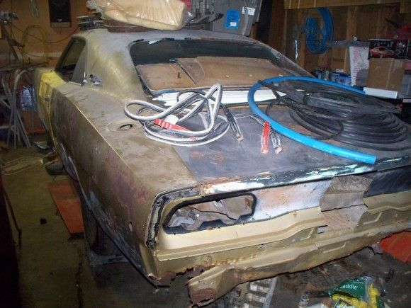 1968 Dodge Charger Project Project Cars For Sale Pinterest