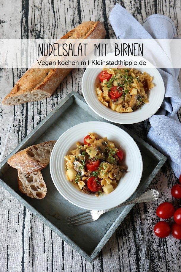 Nudelsalat mit Birnen
