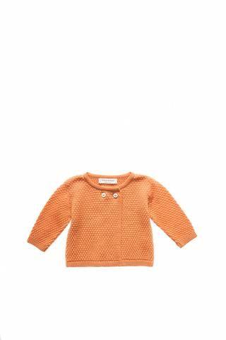8cdda2ff480 Misha   Puff Puff Stitch Cardigan - Apricot