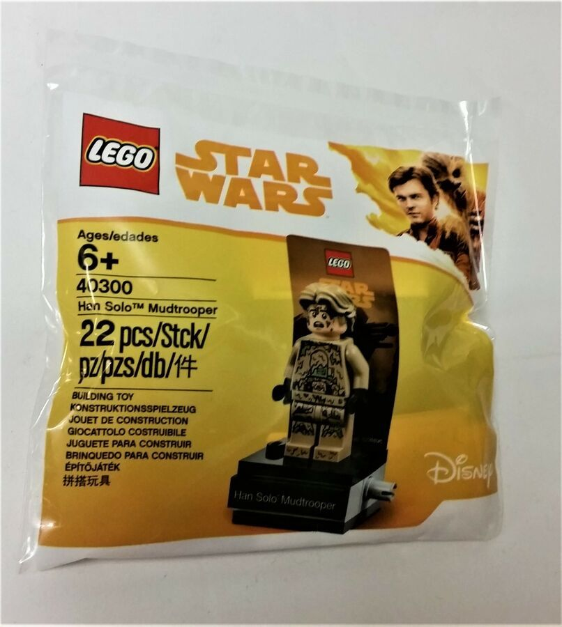 LEGO®  POLYBAG Star Wars 40300 HAN SOLO MUDTROOPER 40299 KESSEL MINE WORKER
