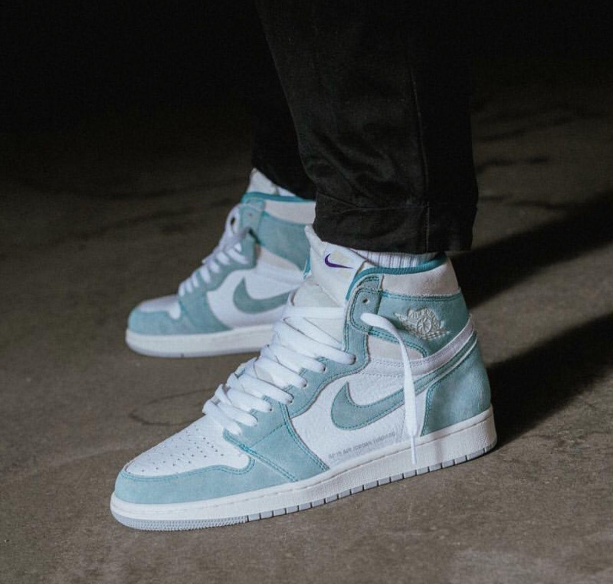 Jordan 1 Retro High Og Turbo Green With Images Sneakers