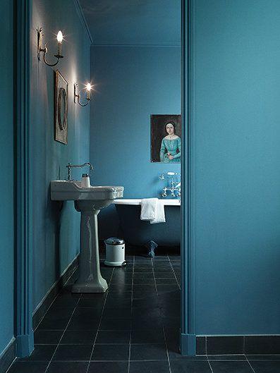 Blaues Badezimmer | Inspirationen fürs Badezimmer | Pinterest ...