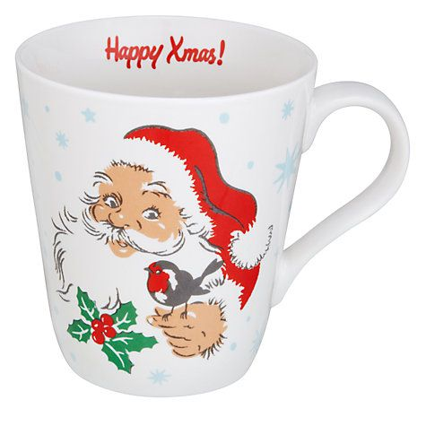 Buy Cath Kidston Santa Mug Online at johnlewis.com