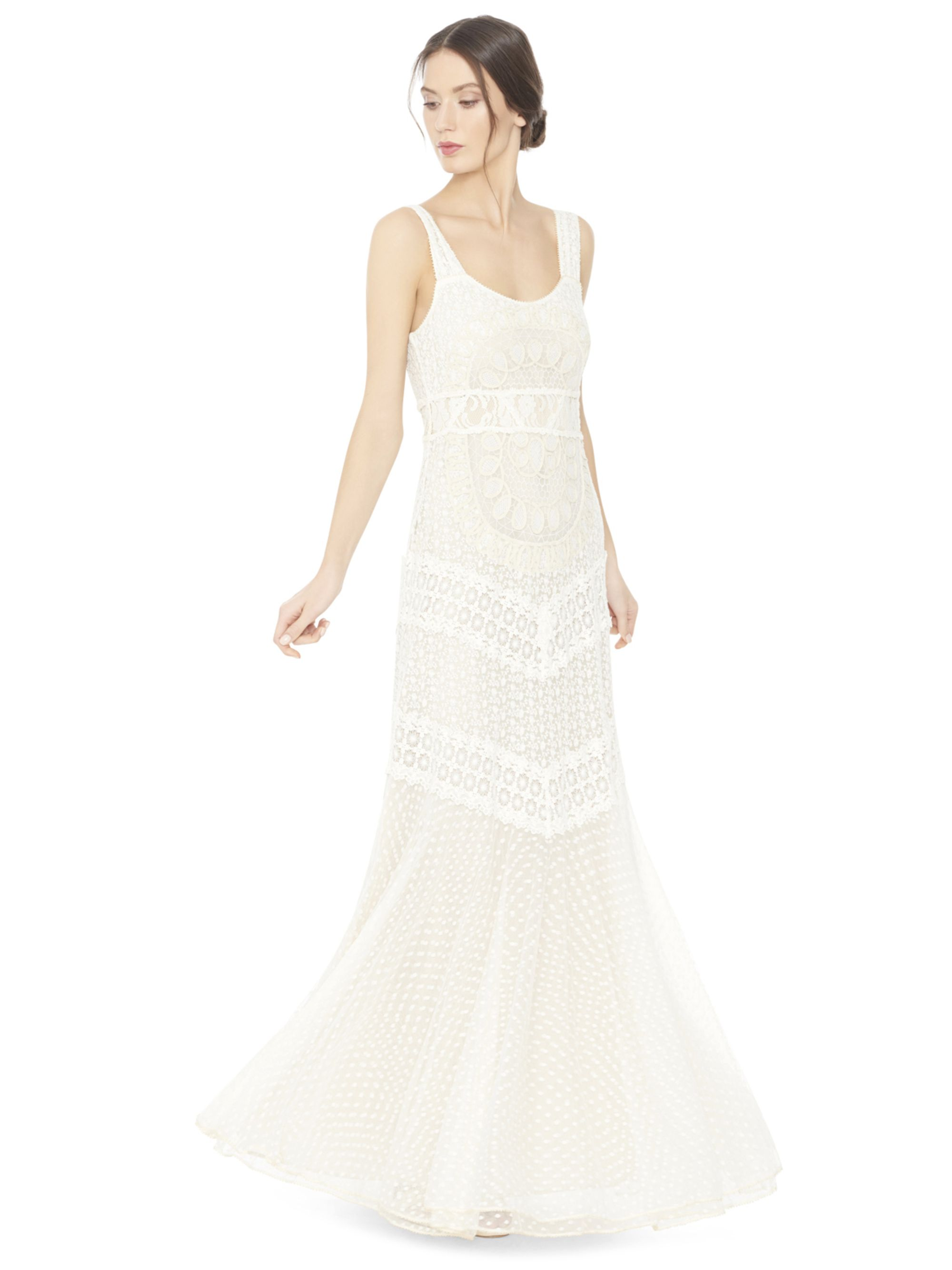 Kimberley Embroidered Tank Maxi Dress By Alice Olivia