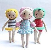 Handmade dolls amigurumi and patterns by Lybo on Etsy