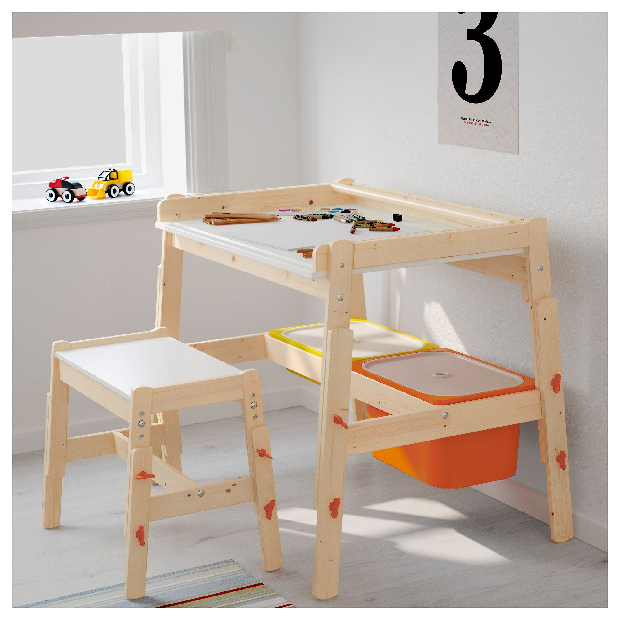ikea flisat child s bench adjustable marco ikea childrens desk rh pinterest com