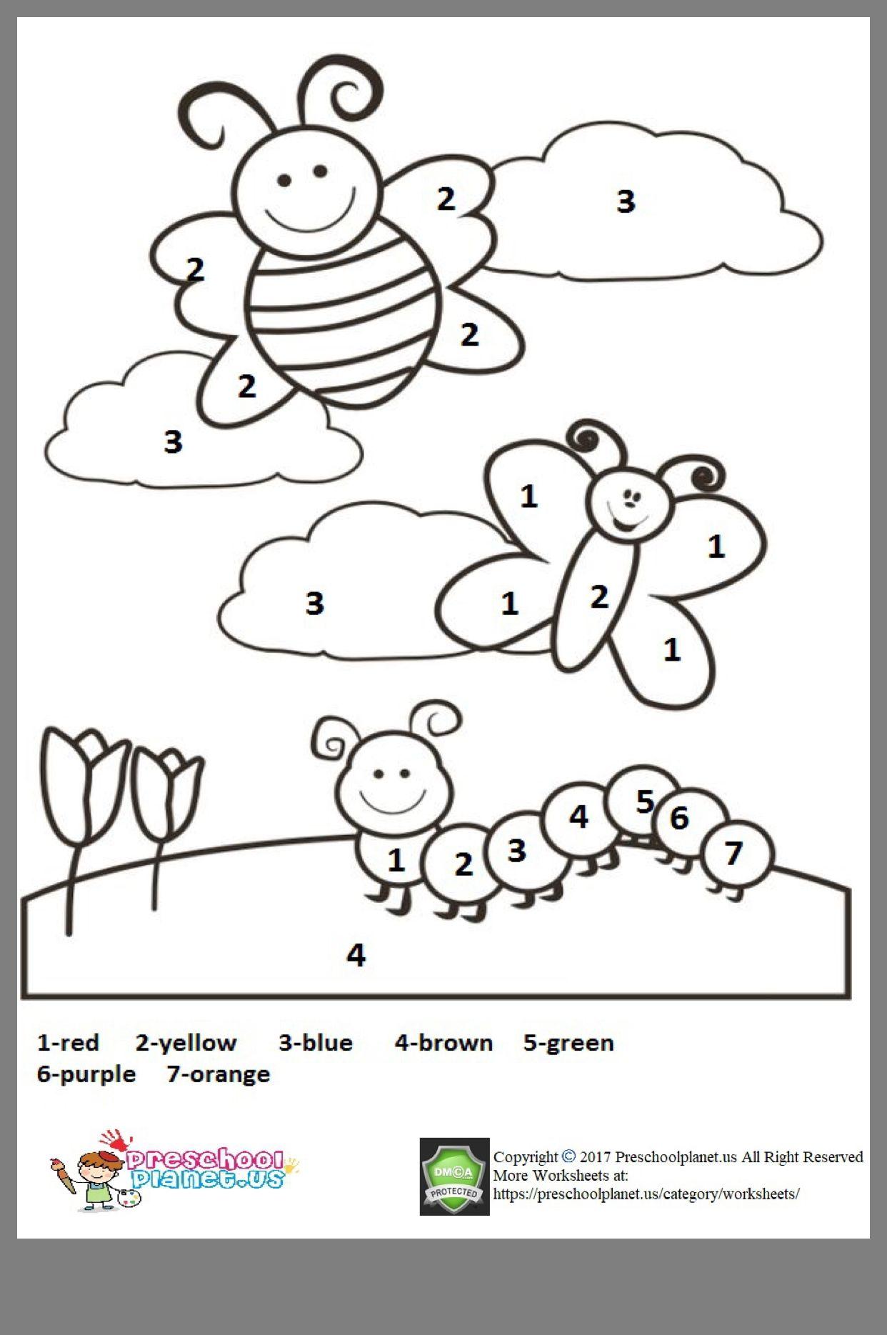 Pin by Susan Woolsey on Printables Preschool coloring