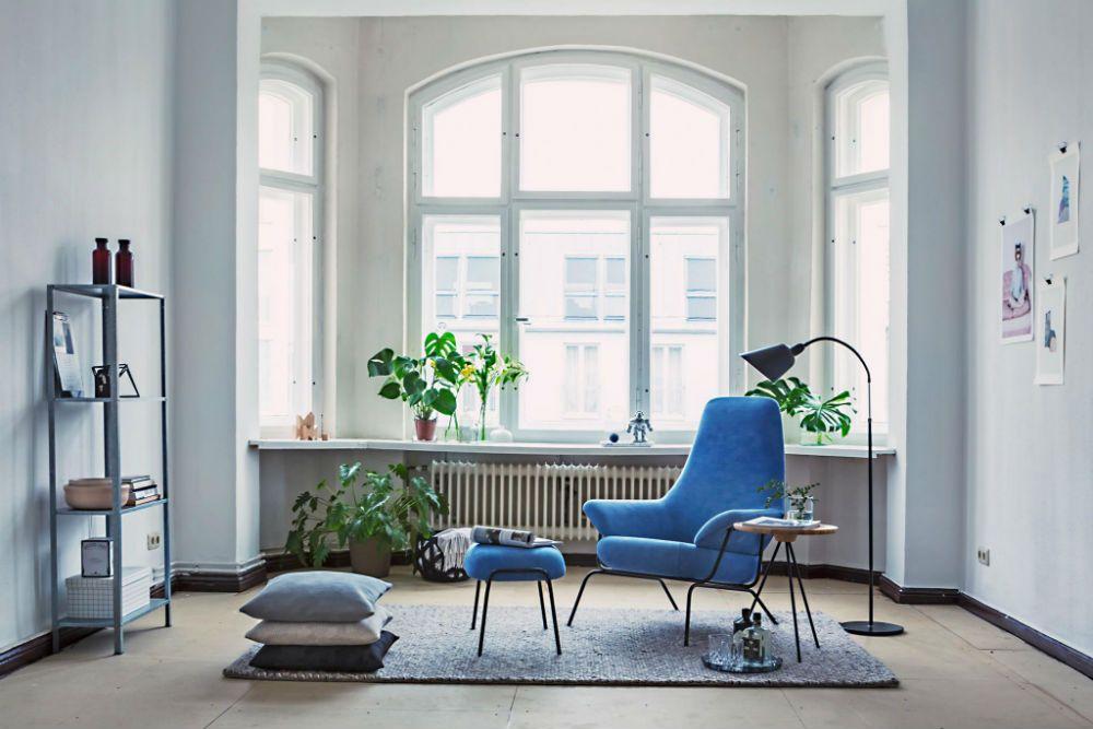 Scandinavisch Interieur Sydney : Een scandinavisch interieur met blauwtinten woonkamer roomed