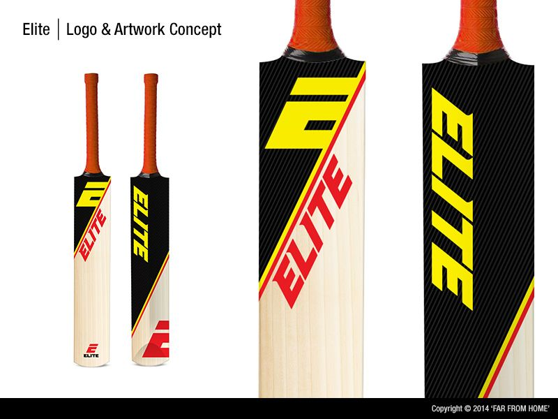 Sticker Design By Far From Home For Cricket Bat Cricket Logo Design Designcrowd Sport Sticker Design Design Crowd Design