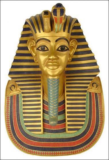 Pharaoh Casket Tattoo Design