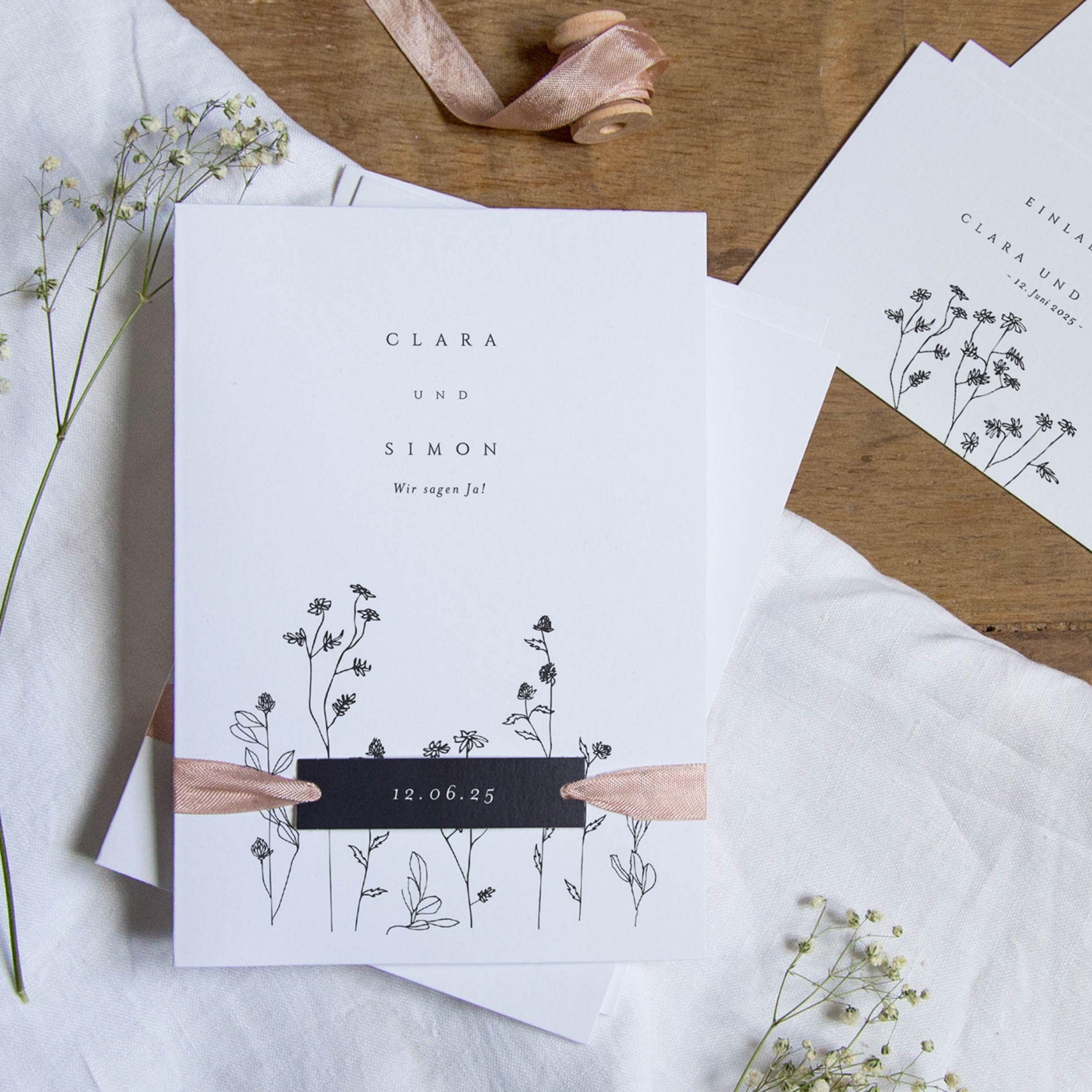 Invitación de boda | Delicadeza y compañía