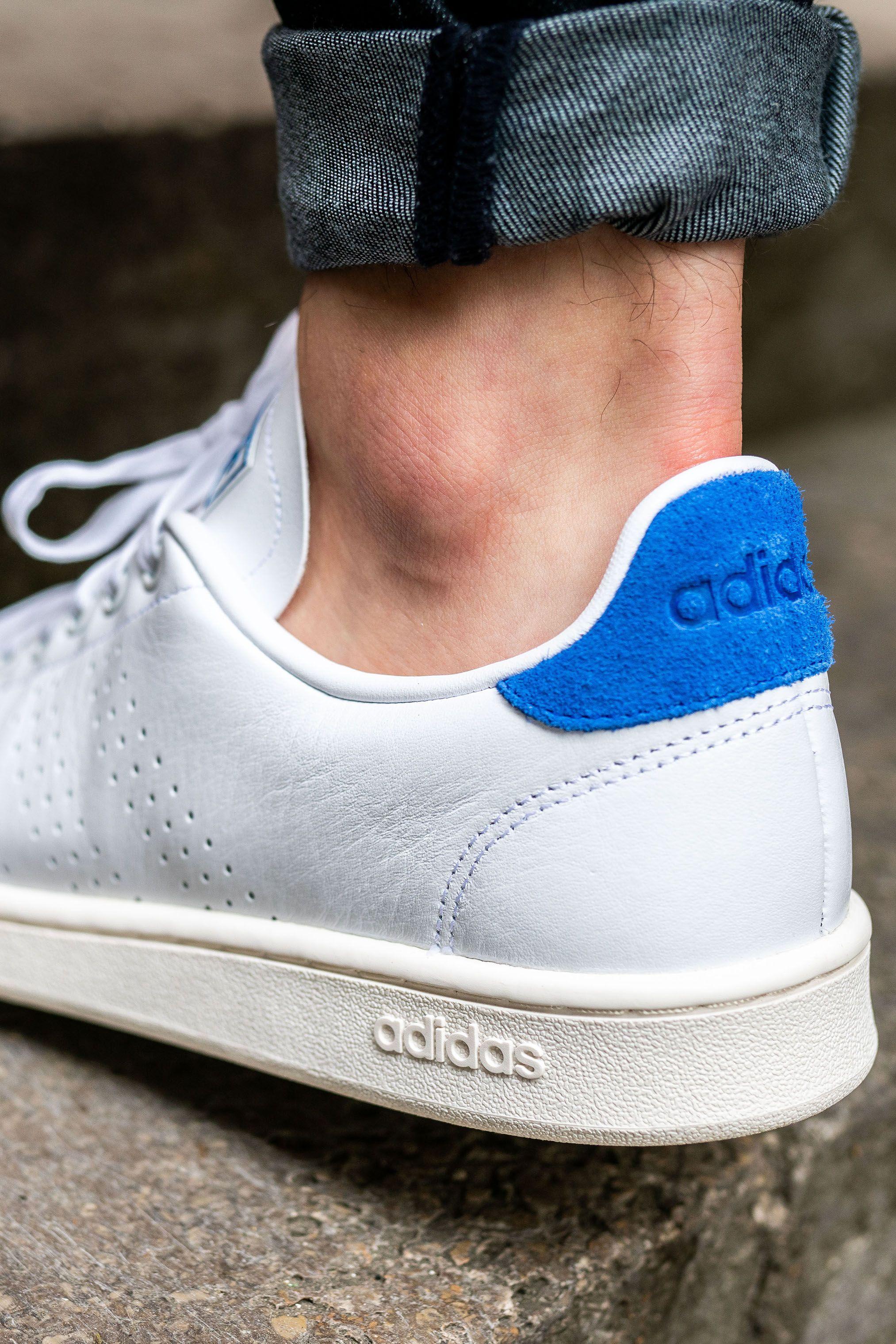 Adidas Sneaker Low VS Advantage whitesilver Synthetics