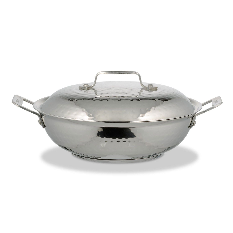 2 qt 10 38 dia x 3 h inch cucina 10 inch braiser pan