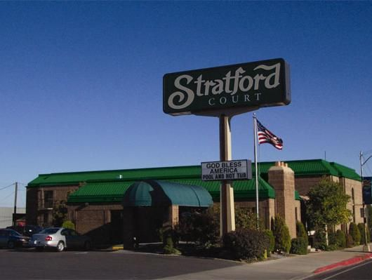 Cedar City (UT) Stratford Court Hotel United States, North America Set in a prime location of Cedar City (UT), Stratford Court Hotel puts everything the city has to offer just outside your doorstep. The property features a wide range of facilities to make your stay a pleasant experience. Free Wi-Fi in all rooms, 24-hour front desk, facilities for disabled guests, business center, newspapers are there for guest's enjoyment. Each guestroom is elegantly furnished and equipped wit...