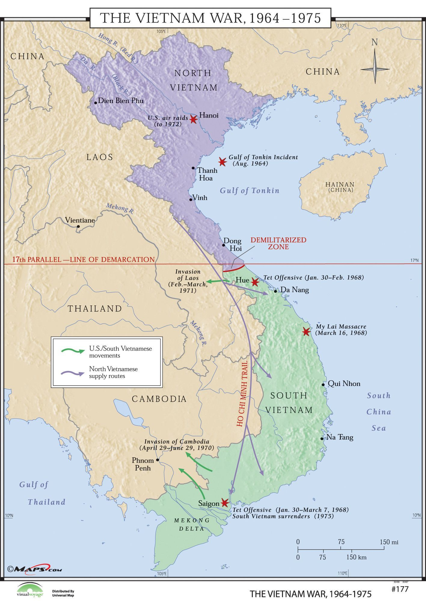 Map Of Major US Air Force Bases In South Vietnam During The - Map of us bases in south vietnam