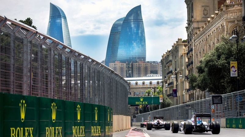 Baku City Circuit Gran Pri Singapur Formula 1