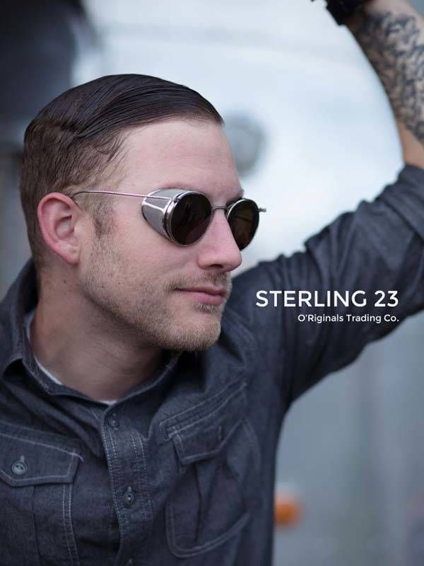 19abe900899 Sterling 23 Sunglasses With Side-Shields Specs