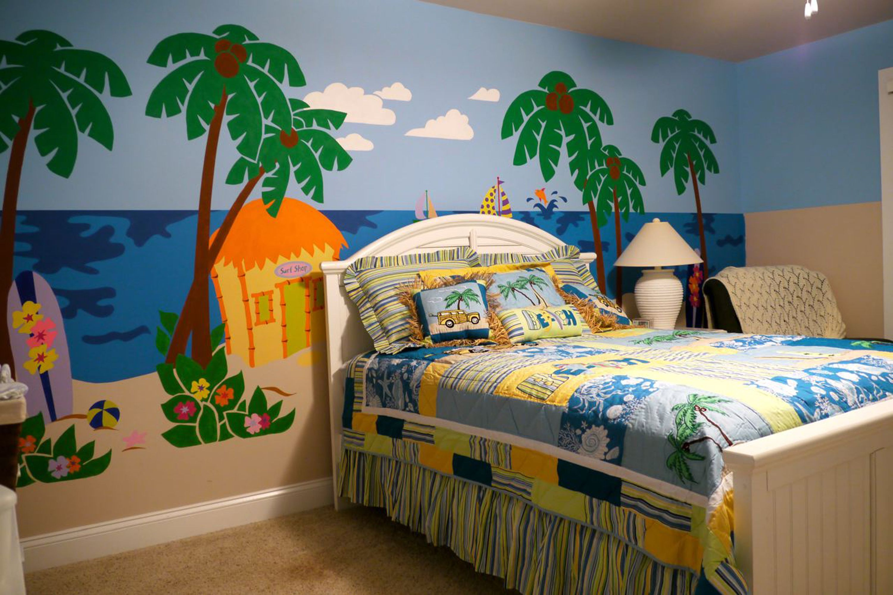 kids for decorative vintage boys full surfboard decor surfboards of size art living bedroom surf room themed wall bedspread cheap beach
