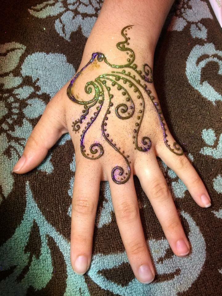 Octopus Henna By Z Face Body Art Henna Tattoo Hand Animal