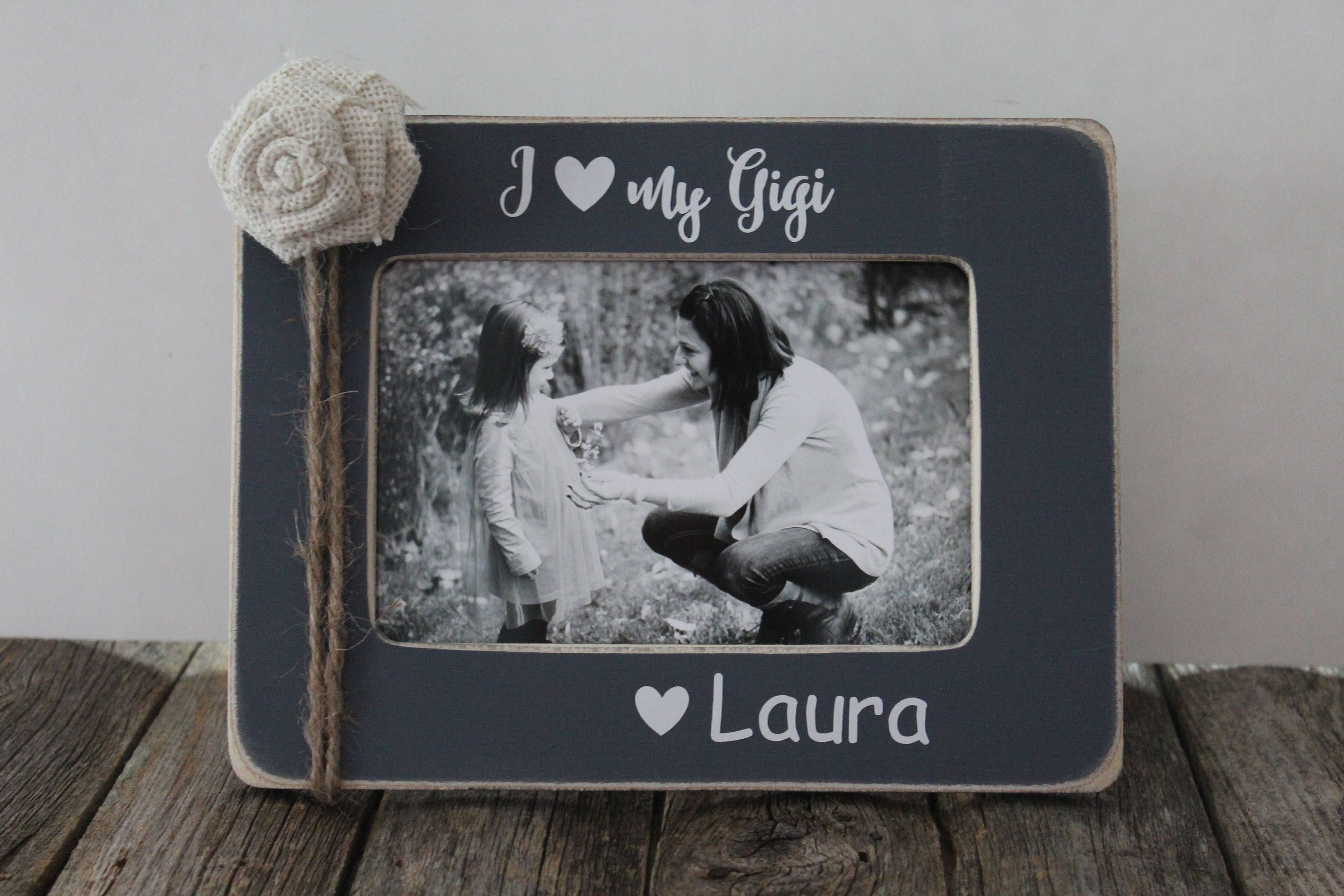Gigi picture frame grandma gift grandmother personalized frame gigi picture frame grandma gift grandmother personalized frame yaya nanny jeuxipadfo Images
