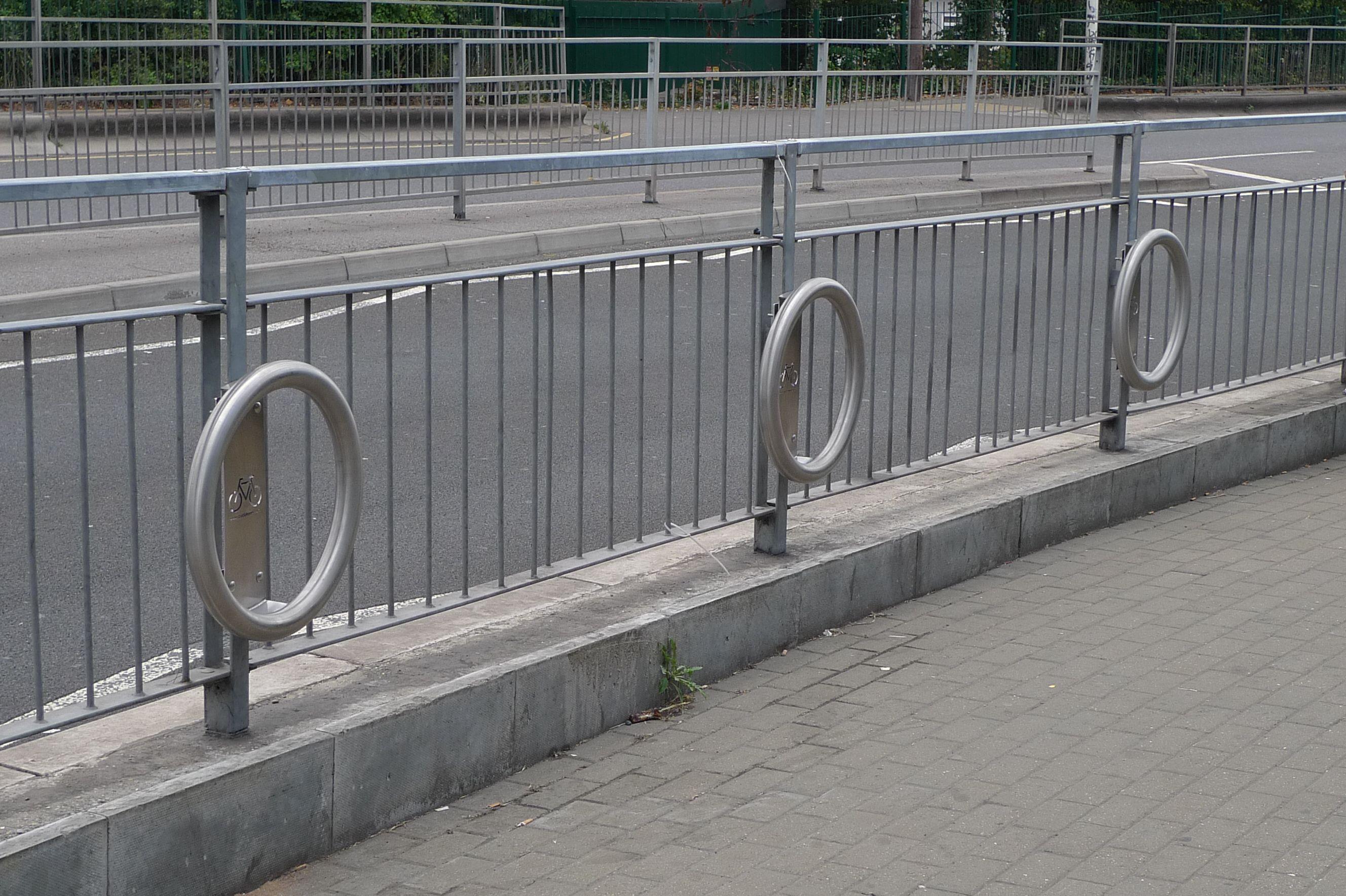 cyclehoop railing