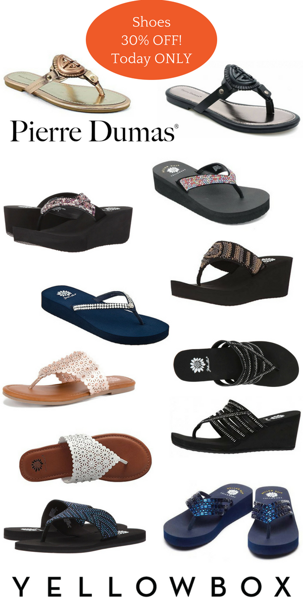 shoes on sale in store