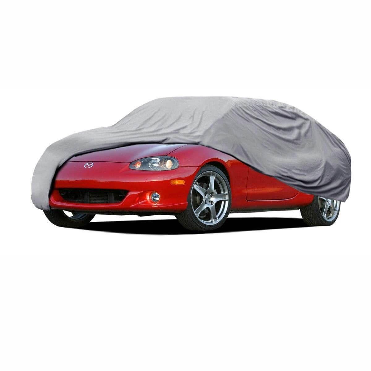 Car Covers Comparison Allweather Vs Waterproof Car Covers Waterproof Car Mazda Miata Car Covers