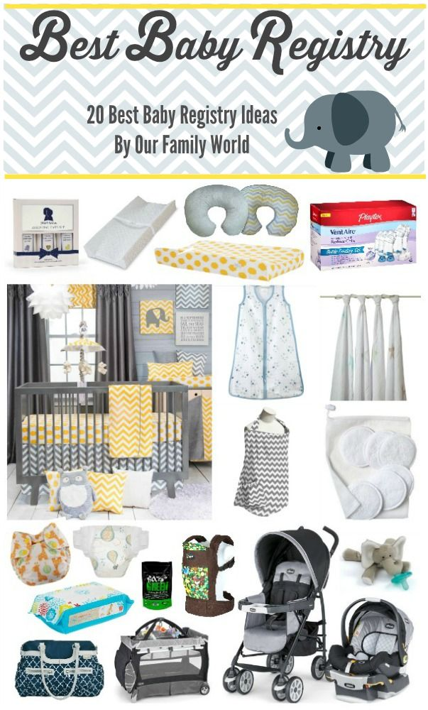 Baby Registry Essentials What You Need  What You Want  Baby