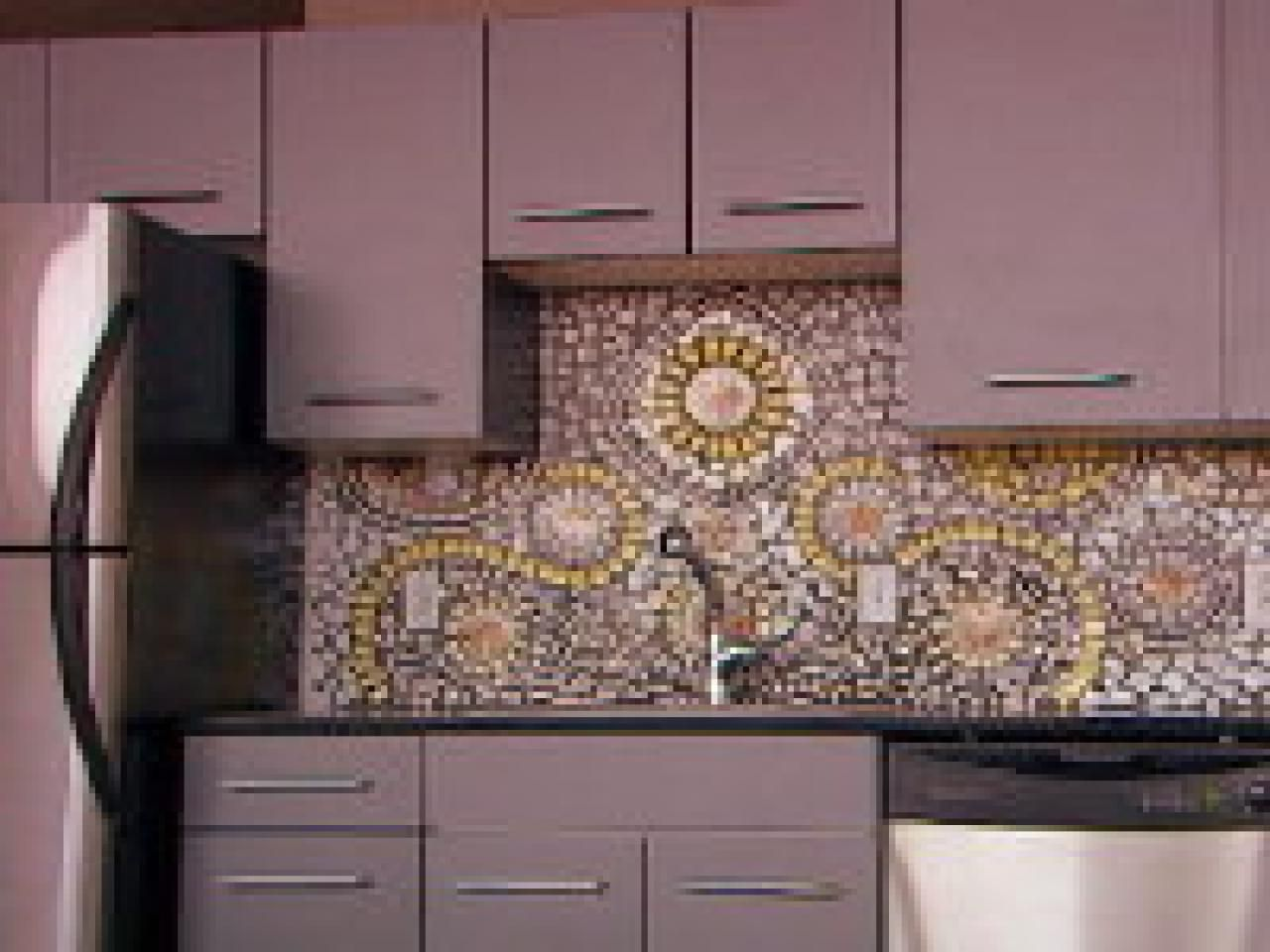Mosaic Kitchen Backsplash Ideas Part - 21: Create A Beautiful, Unique Mosaic Kitchen Backsplash Made From Broken China  Plates And Cups On