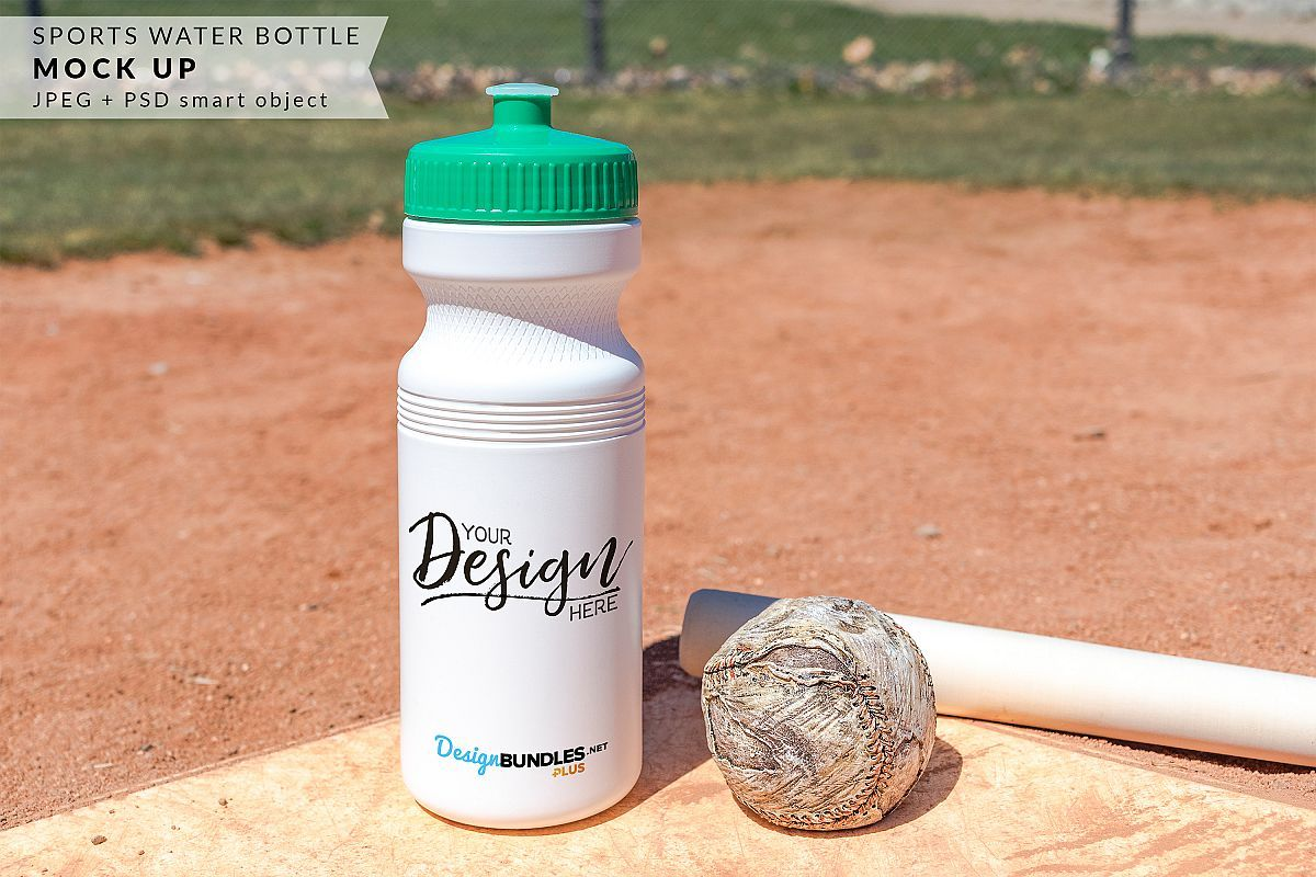 Download Plus Membership Exclusive Sports Water Bottle Mock Up Mockup Waterbottle Hires Jpeg Psd Smartobject