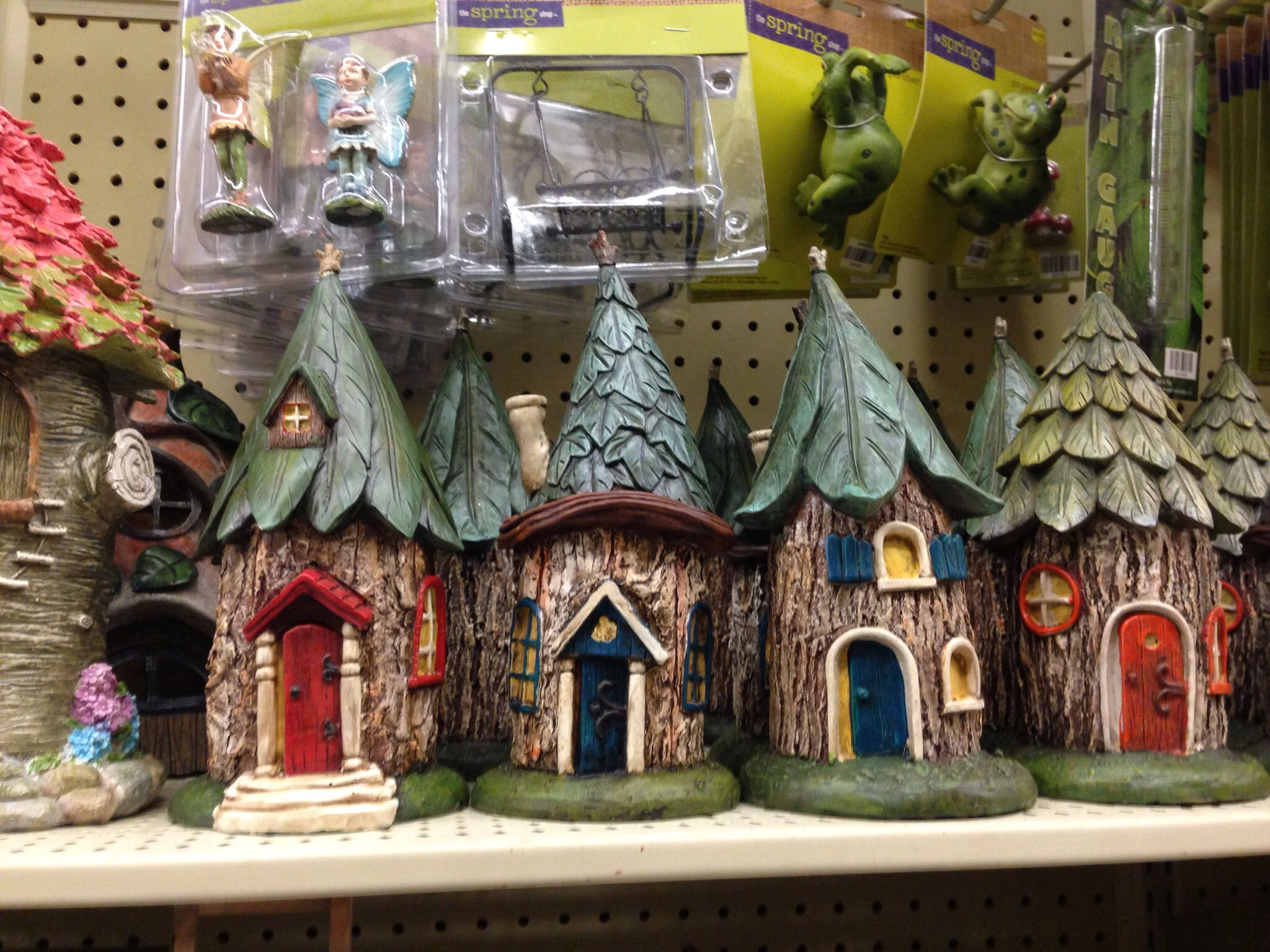 Hobby Lobby Fairy Garden Homes. Hate To Buy From Them When It Would Be More