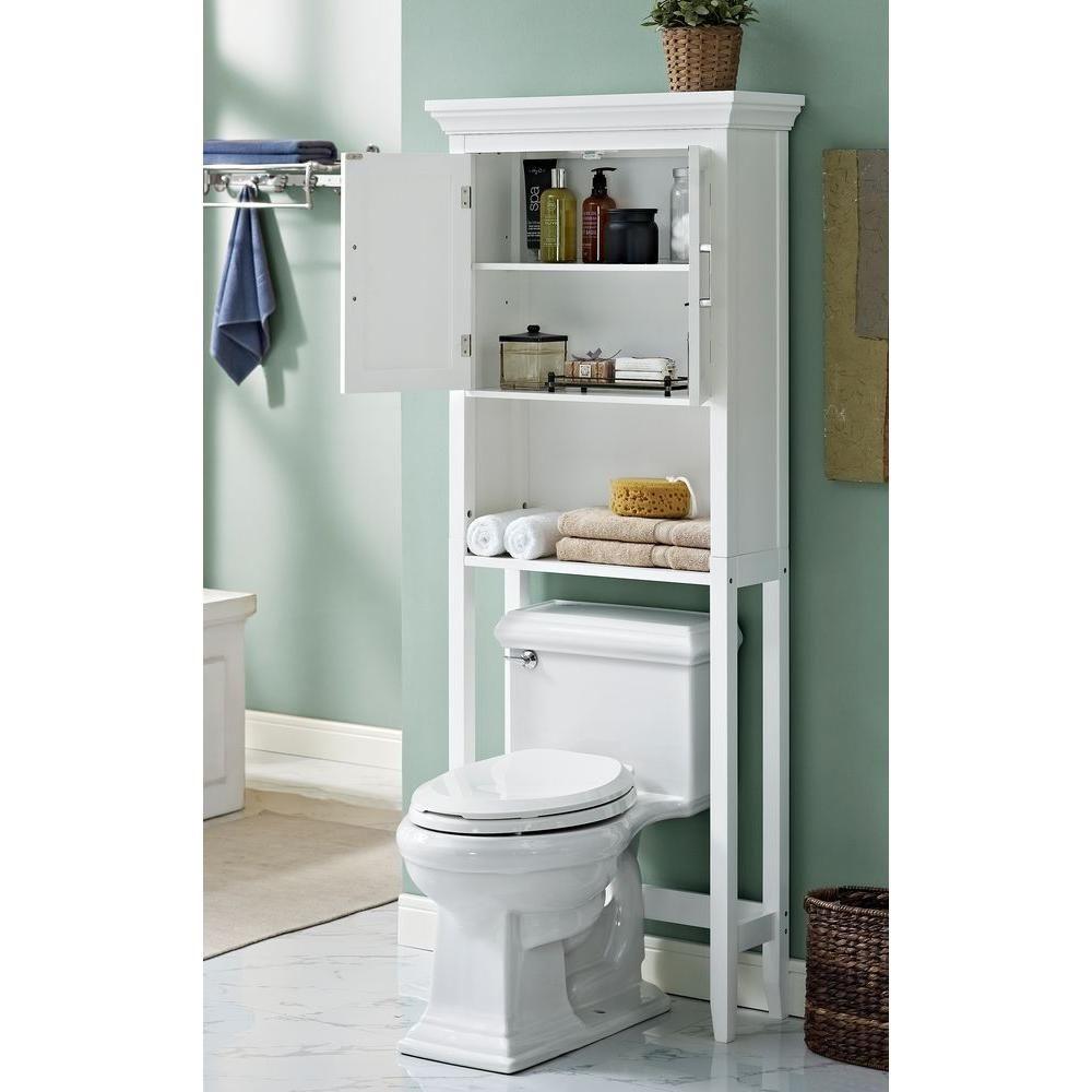 Simpli Home Avington 27 In W X 67 In X 10 In D Over The Toilet