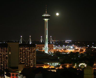 Tower Of The Americas Is An Observation And Restaurant With A Height 750 Feet Located In Downtown San Antonio It