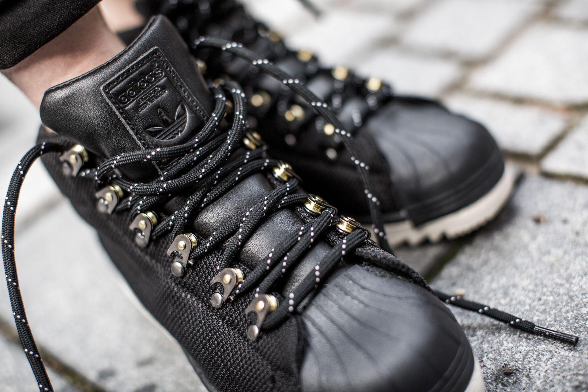 33f09ed8a3c2 ADIDAS PROMODEL BOOT GORETEX CBLACK CBLACK CWHITE available at  www.tint-footwear.com adidas-promodel-boot-goretex-s81625 Adidas promodel  boot goretex black ...