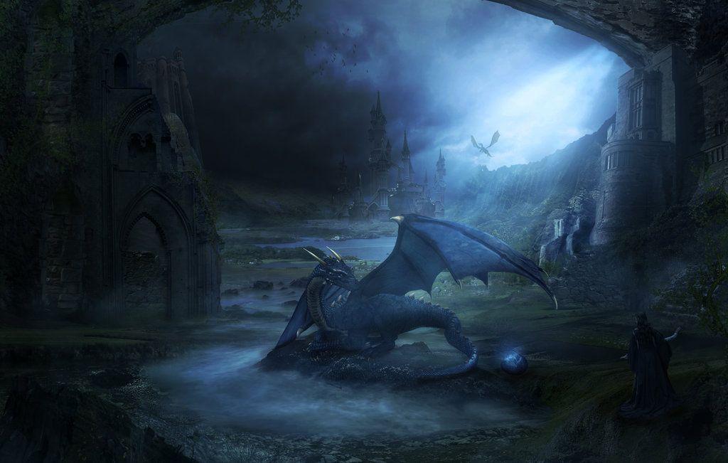 The Dragons Lair by charmedy.deviantart.com on @DeviantArt