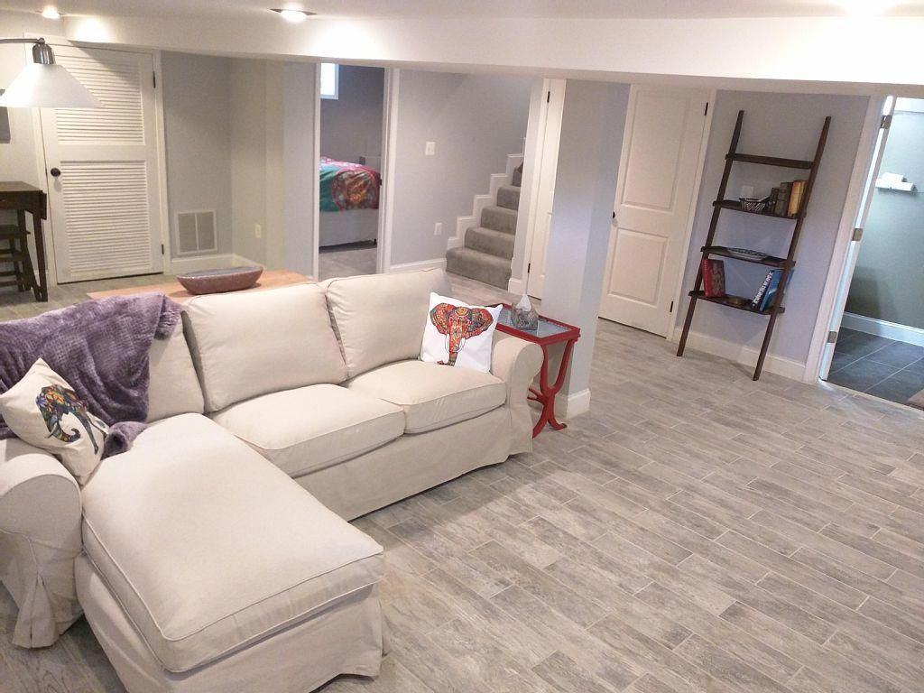 Apartment Vacation Rental In Southeast Washington Washington Dc Usa From Vrbo Com Vacation Rental Living Room Grey Basement Remodeling Basement Makeover