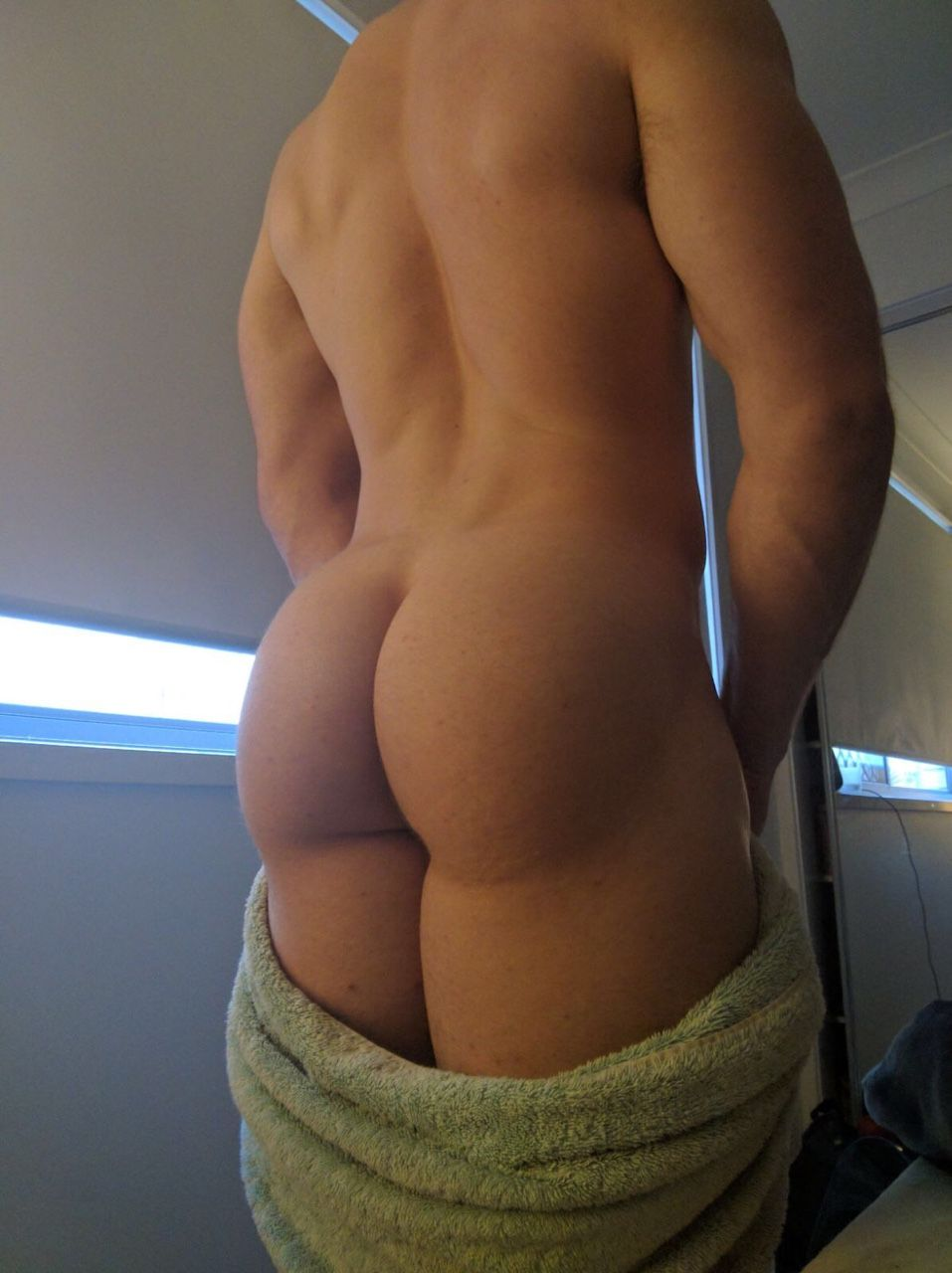 Naked girls asses close up
