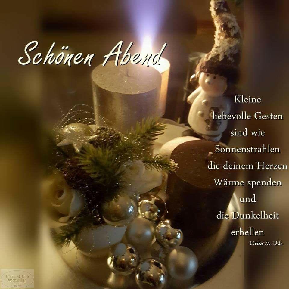 Pin Von Helga Wagner Auf Deutsch Abendgrusse Grusse Zu Weihnachten Advent Spruche