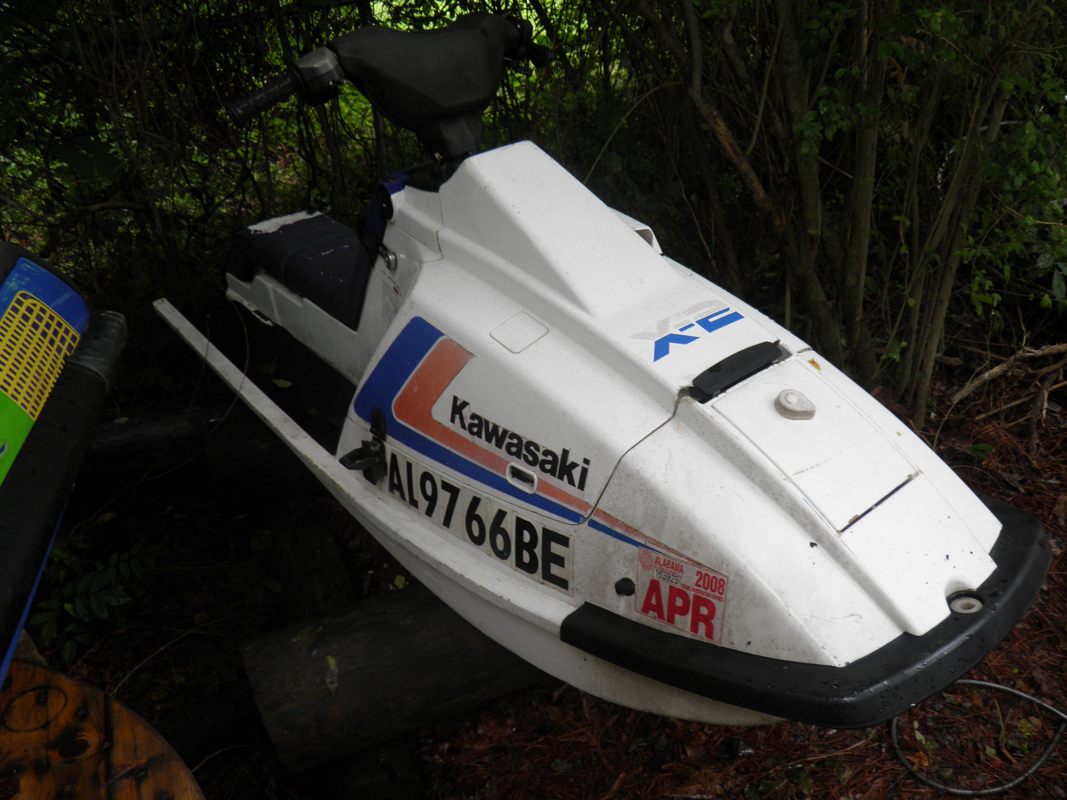 My 89 Kawasaki X2 650 - Going to redo this one!!! | Jet Ski's - No