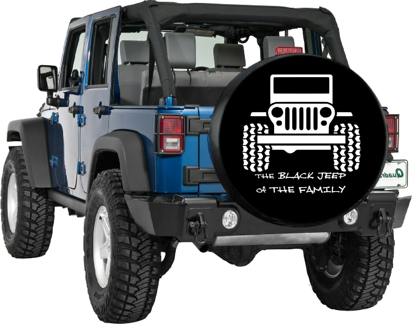 The Black Jeep Of The Family Tire Cover Www Tirecoversale Com