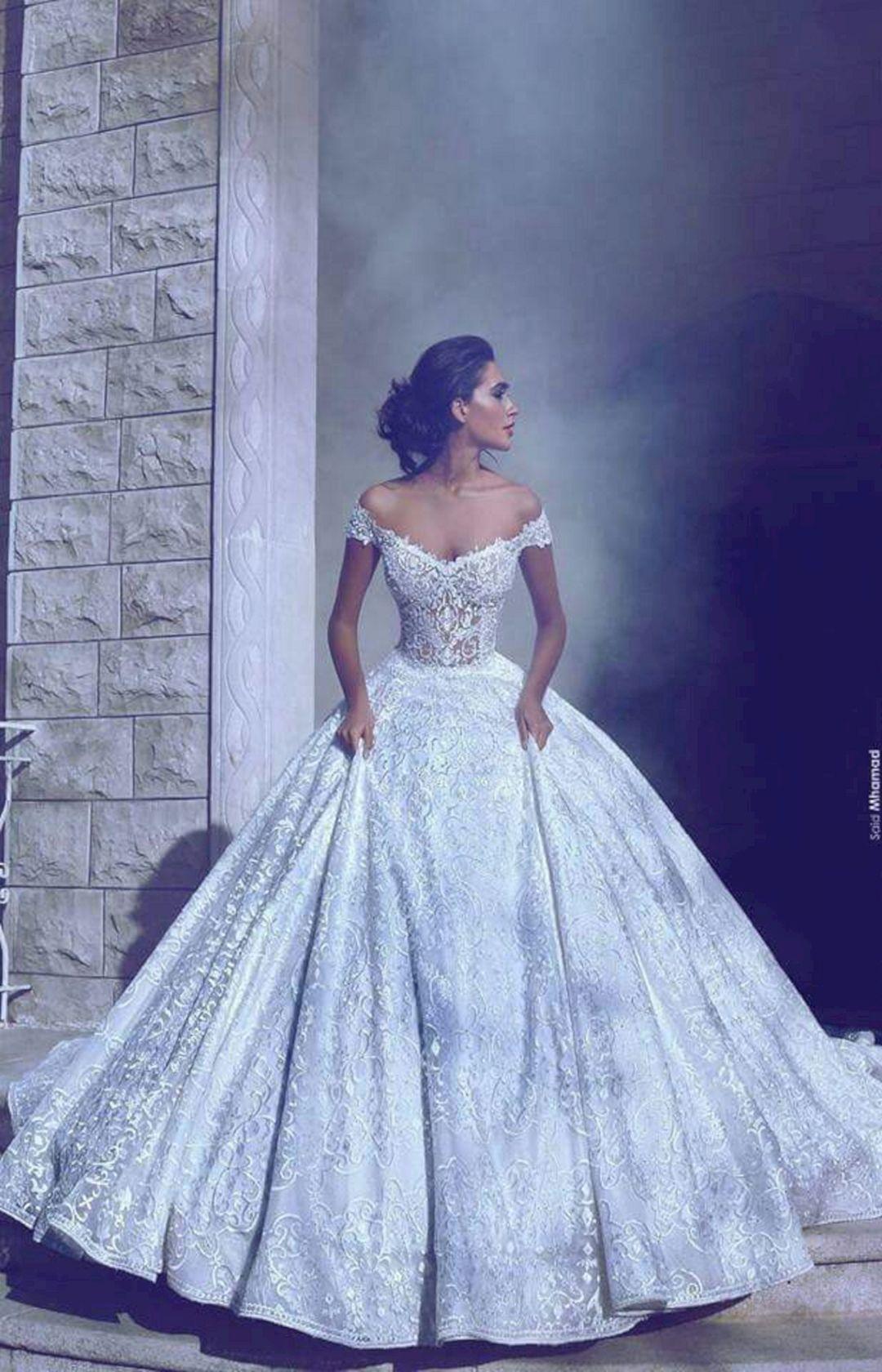 40 Beautiful Princess Wedding Dress Ideas For Perfect Bride Wedding Dresses Bridal Dresses Dream Wedding Dresses [ 1680 x 1080 Pixel ]
