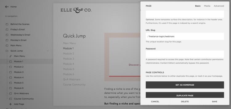 How to Create a Membership Site Using Squarespace Create