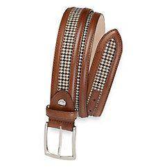 Men's 1950s Style Belt  Seymour Belt $80.00 AT vintagedancer.com