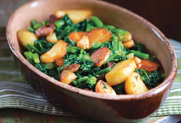 Sautéed Broccoli Rabe with Potatoes Recipe